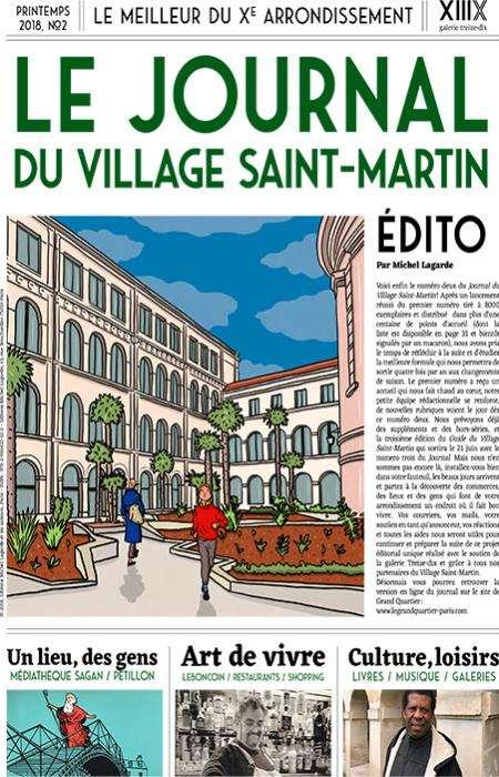 Le Grand Quartier - Journal du Village Saint-Martin